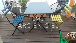 Emu Arc En Ciel : emu arc en ciel folding chair youtube ~ A.2002-acura-tl-radio.info Haus und Dekorationen