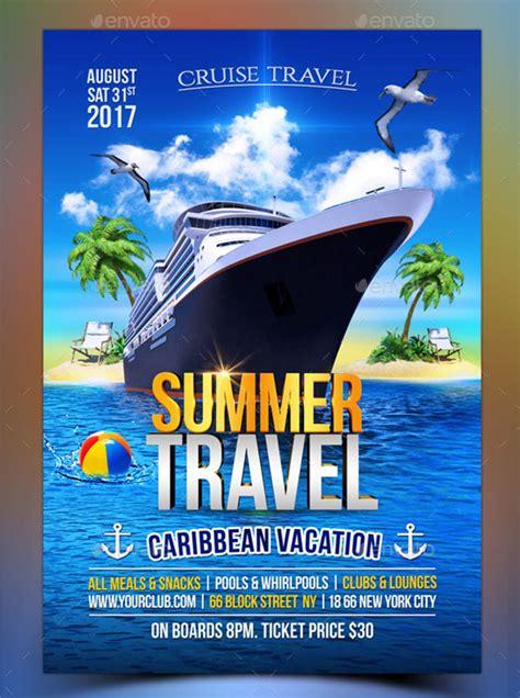 cruise flyer templates  psd vector eps png ai