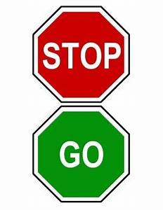 Stop And Go : red green stop and go classroom bathroom door hanger sign mini visuals ~ Medecine-chirurgie-esthetiques.com Avis de Voitures