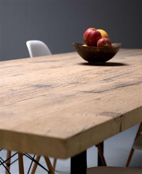 table cuisine chene les 25 meilleures idées concernant chêne massif sur