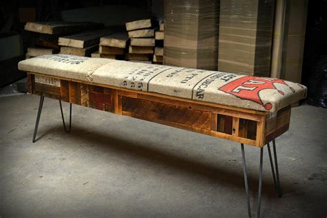 reclaimed wood storage bench adorable home