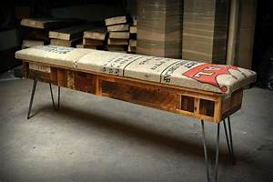 Reclaimed Wood Storage Bench – Adorable Home