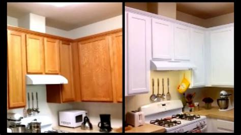 paint cabinets white     diy paint