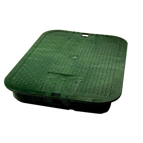 nds      icv green overlapping valve box cover