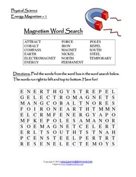 science vocabulary word search worksheet this worksheet will introduce or review the vocabulary