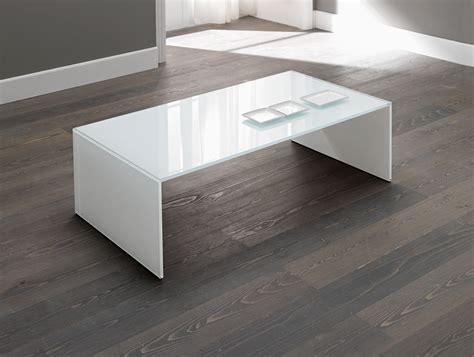 modern white table l nella vetrina tonelli qubik modern white italian glass