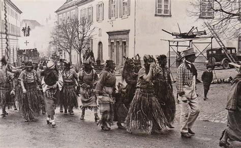 Umzug »Entdeckung Amerikas durch Kolumbus«, Fasnacht 1935 ...