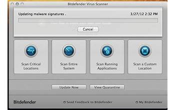 BitDefender Virus Definitions screenshot #0