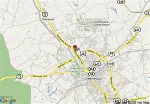 Greenwood South Carolina Map