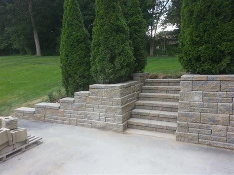 block retaining wall methuen ma concord stoneworks