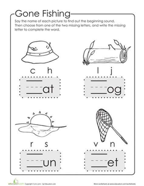 Make A Word Write The Missing Letter  School  Pinterest  Worksheets, Phonics And Preschool
