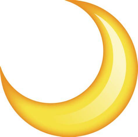 iphone half moon symbol moon emoji image in png emoji island