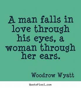 Sayings about l... Man Eyes Quotes