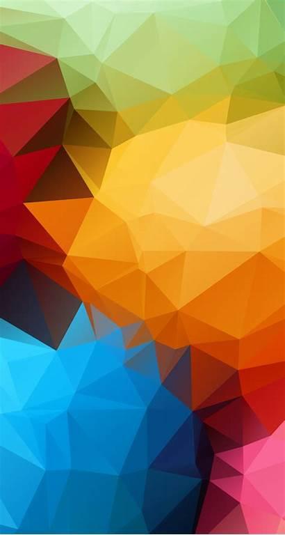 Geometric Phone Wallpapers Iphone Parallax Blurred Wallpapersafari