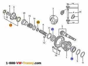 Diagram 27 Vw Rabbit  Jetta  Gli  Golf  Gti  R32    Differential