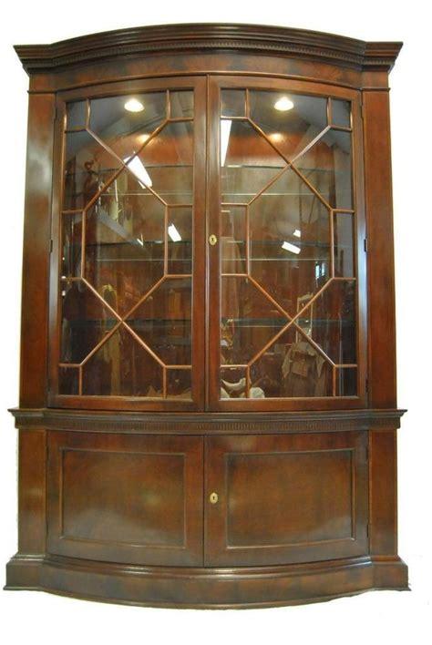baker breakfront china cabinet mahogany breakfront china cabinet bookcase by baker furn