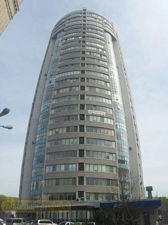 Светопрозрачные фасады высотных многофункциональных зданий