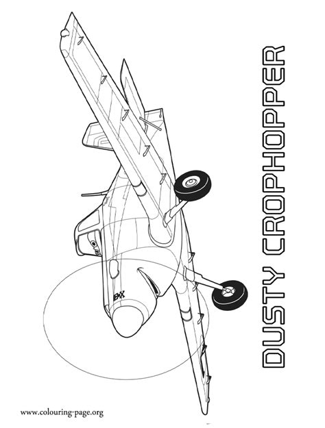 Kleurplaat Dusty by Planes 2 Dusty Planes 2 And Rescue Coloring Page