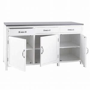 meuble plan travail cuisine meubles de cuisine tendance With meuble bas avec plan de travail