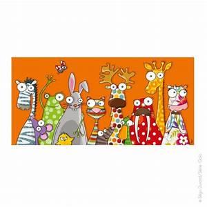 tableau enfant les animaux deco decoration chambre bebe With affiche chambre bébé avec tapis coussin champ de fleurs