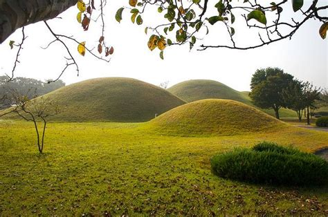landscape mounds korean burial mounds lawn pinterest inspiration south korea and atelier