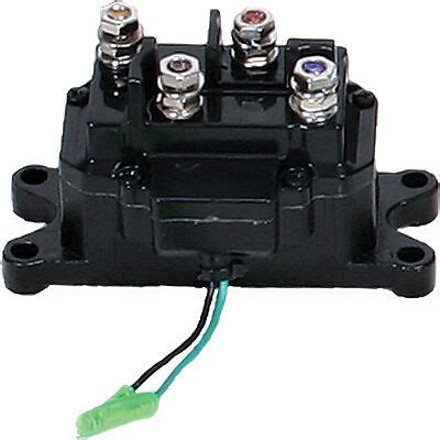Universal Atv Winch Contactor Switch Relay Solenoid Wire