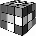 Cube Icon Rubik Rubiks Icons Library Shapes