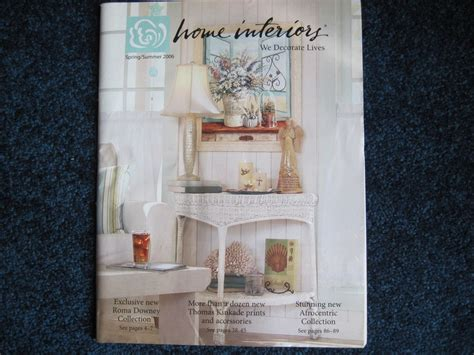 home interior design catalogs home interiors gifts summer 2006 catalog brochure