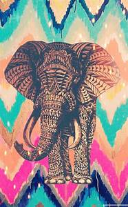 Hispter elephant colorful by Me | Hispter Wallies ...