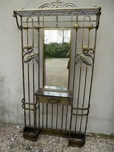 Porte Manteau Deco : vestiaire portemanteau antiquites en france ~ Teatrodelosmanantiales.com Idées de Décoration