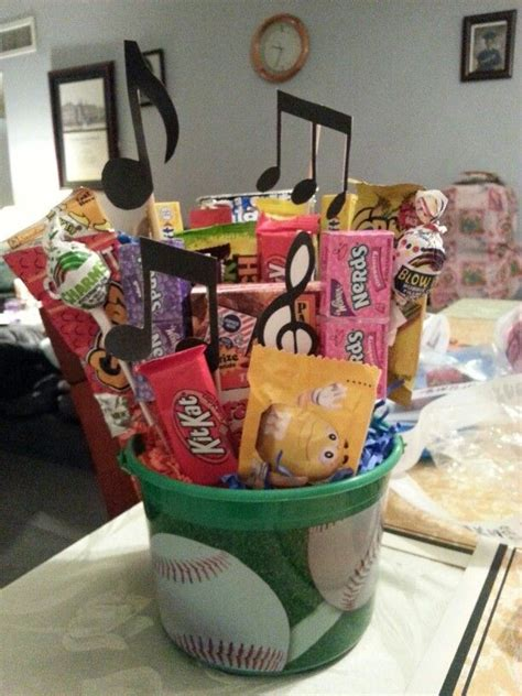 cute idea senior night gift basket senior night gifts