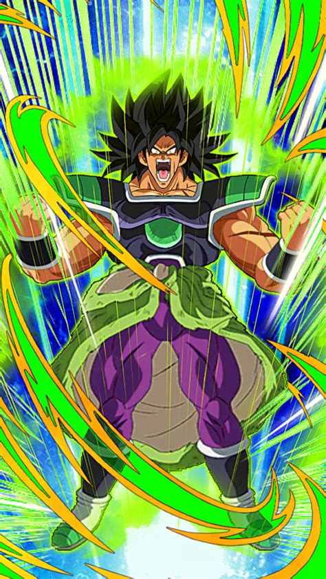 purely terrific power broly wrathful db dokfanbattle
