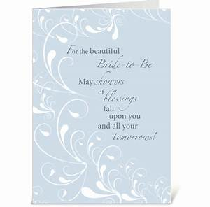 Bridal shower congratulations swirls send this greeting for Images of wedding shower cards