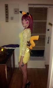 Pikachu from pokemon diy fancy dress costume/cosplay   To ...