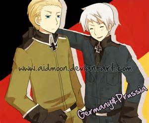 Hetalia Prussia and Germany Brothers