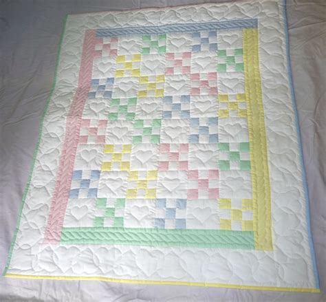 Handmade Amish Infant Quilts and Baby Blankets