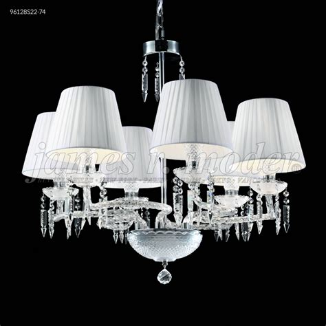 Moder Chandeliers by R Moder Le Chateau 6 Arm Chandelier Silver 96128s22