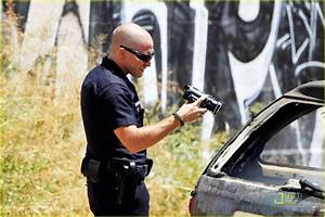 Jake Gyllenhaal: 'End of Watch' with Michael Pena: Photo ...