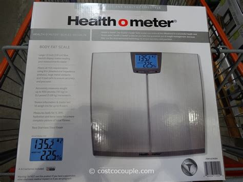 health  meter body fat scale
