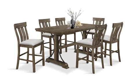 Dining Table With Stools by Counter Height Dining Table With 6 Stools Dock86