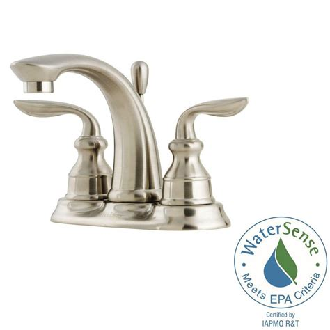 Pfister Avalon 4 In Centerset 2handle Bathroom Faucet In