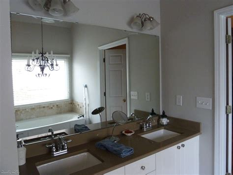 Frameless Bathroom Mirror Ideas Frameless
