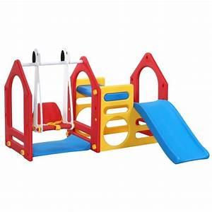 Balancoire Et Toboggan : maison de jeu pour enfants avec toboggan et balan oire ks ~ Melissatoandfro.com Idées de Décoration