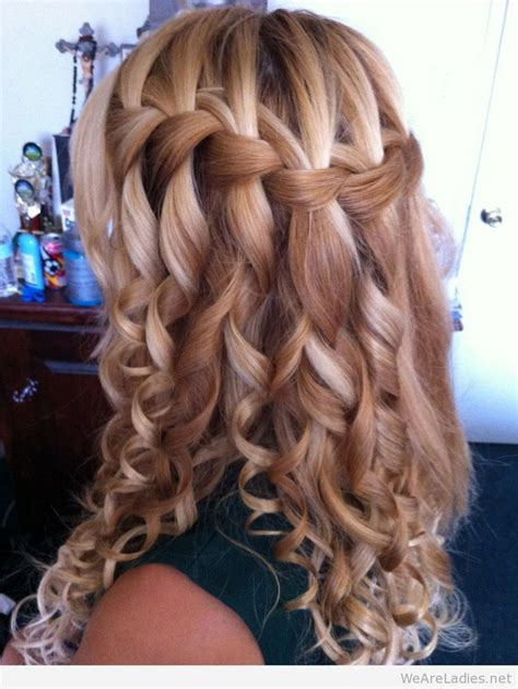 Curled Prom Hairstyles by Awesome Hairstyles Ideas