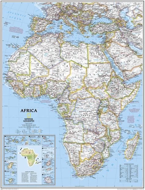africa map national geographic campinglifestyle
