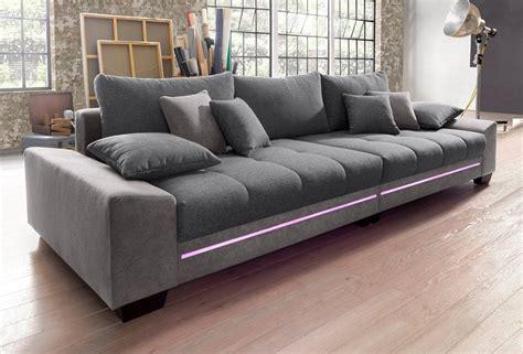 sofa mit bluetooth big sofa mit beleuchtung wahlweise mit bluetooth soundsystem kaufen otto