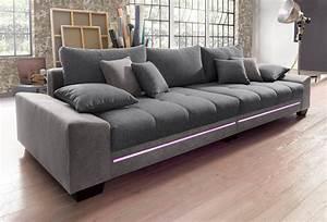 Couch Mit Led Und Sound : big sofa mit beleuchtung wahlweise mit bluetooth soundsystem online kaufen otto ~ Bigdaddyawards.com Haus und Dekorationen