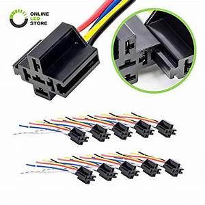 25 Pack 40  30 Amp 5 Pin Spdt 12 V Dc Bosch Style Relay