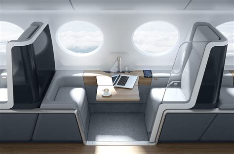 update boom supersonic airline interior  behance