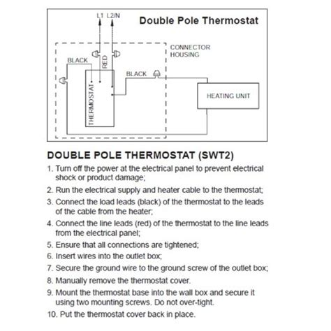 pole thermostat wiring diagram 37 wiring diagram